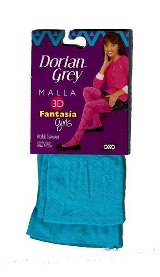 Malla Dorian Grey Fashion Girls Fantasía Varios Modelos