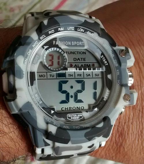 Relógio Militar Camuflado Tipo Russo Barato