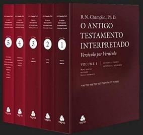 Livro Antigo Testamento Interpretado 5 V. Russell N Champlin