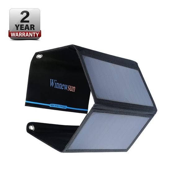 Foldable Solar Charger 28w For Cell Phones,for iPhone,for Ip
