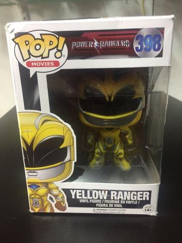Figura Funko Pop Yellow Ranger Power Rangers # 398