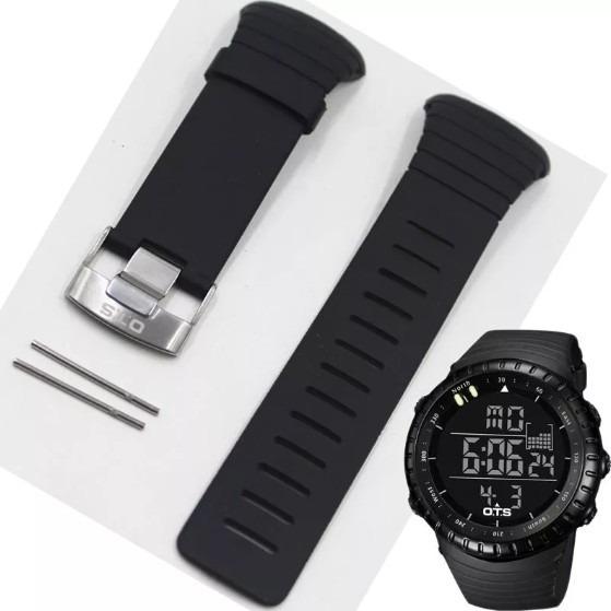 Pulseira Relógio Militar Ots 7005g Com Pinos - Original!!!