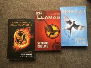 Trilogía De Los Juegos Del Hambre Suzanne Collins
