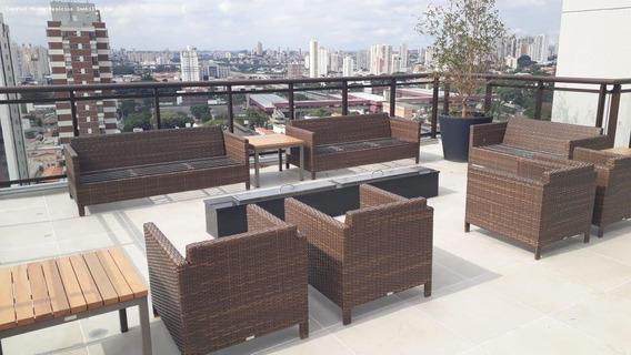 Apartamento Para Venda Em São Paulo, Tatuapé, 1 Dormitório, 1 Banheiro, 1 Vaga - Cap0009_1-1182045