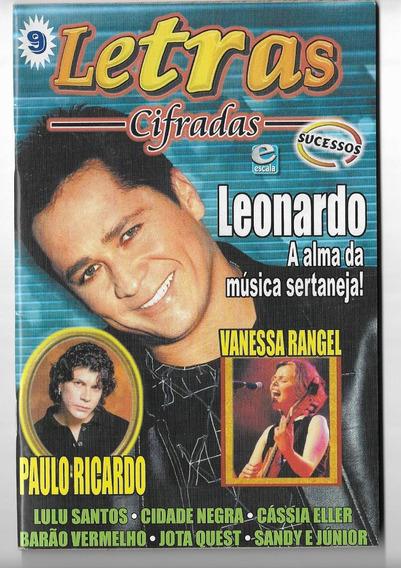 Letras Cifradas Ed 9 Revista Leonardo Cifras