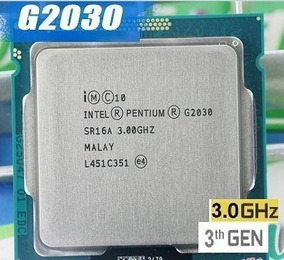 Processador Gamer De Entrada Intel Pentium G2030