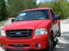 Ford Lobo 4.6 Stx 2008 Roja Cabina Regular 4 X 2 Excelente
