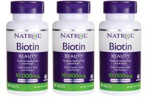 Biotin Natrol 10000 Mcg Entrega Floresta Quicentro Cci