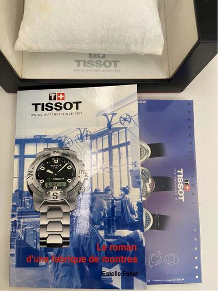 Lindo Relógio Tissot Touch Completo (leia O Anúncio)original