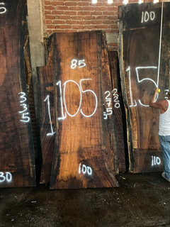 Tablon 105 85-100x270 $6205, Cubiertas De Parota Guanacastle