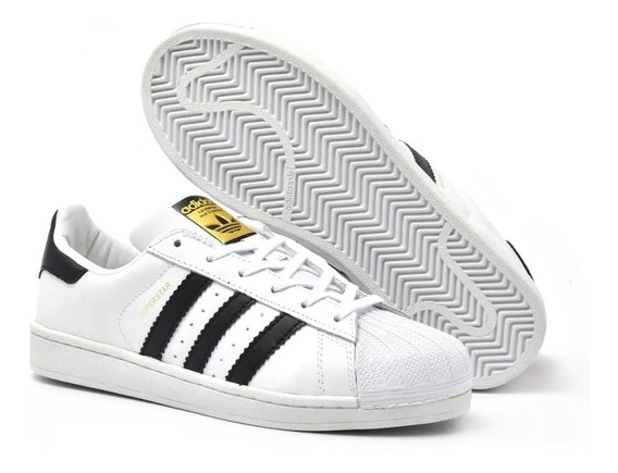 Tênis adidas Superstars Originals Unissex - Branco