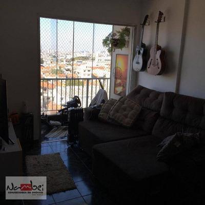 Apartamento Com 2 Dormitórios À Venda Por R$ 430.000 - Vila Granada - São Paulo/sp - Ap0547
