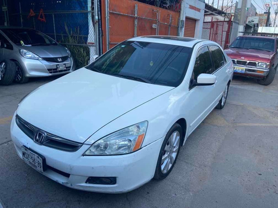 Honda Accord 3.0 Ex Sedan V6 Piel Abs Qc Cd Mt 2007