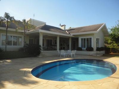 Casa Em Condomínio Terras De São José, Itu/sp De 566m² 4 Quartos À Venda Por R$ 4.000.000,00 - Ca231676