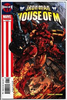 Iron Man House Of M #1 Portada Regular