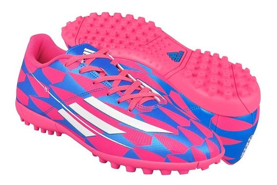 Tenis De Fútbol Para Caballero M25046 Rosa