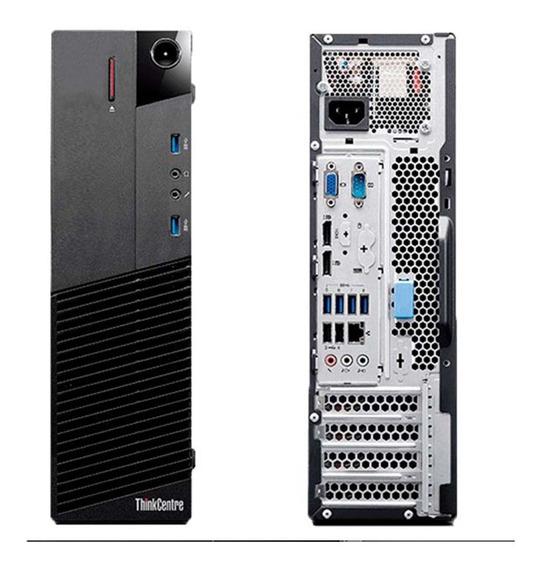 Pc Cpu Lenovo M93p Intel Core I5 4gb Ssd 120gb Wifi Promoção