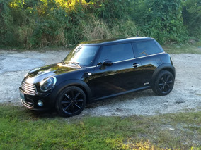 Mini Cooper 1.6 All Black 6vel Aa Mt 2013