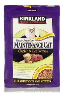 Alimento Para Gato Pollo Y Arroz 11.3kg Kirkland Signature