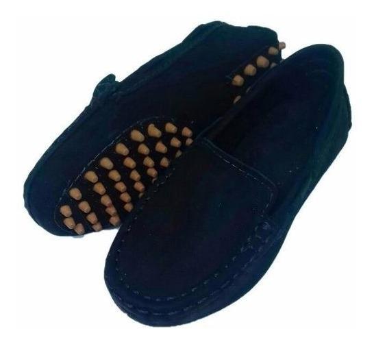 Sapato Infantil Mocassim Solado Antistress Polo Criança