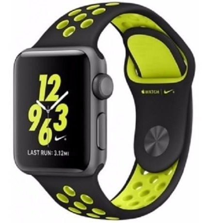 Apple Watch S2 Nike+ Caixa Aluminio 42mm Novo Na Caixa