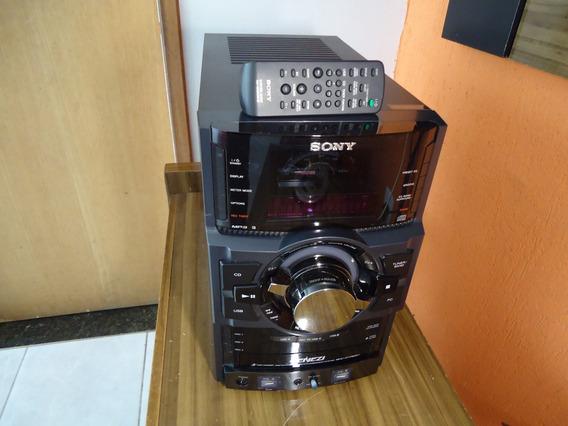 Mini System Sony Geneze Mhc-gtr 66h(sem Caixas Acústicas).