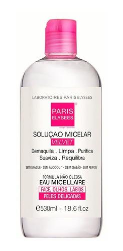 Água Micelar Velvet Paris Elysees 530ml - Laboratórios Parys
