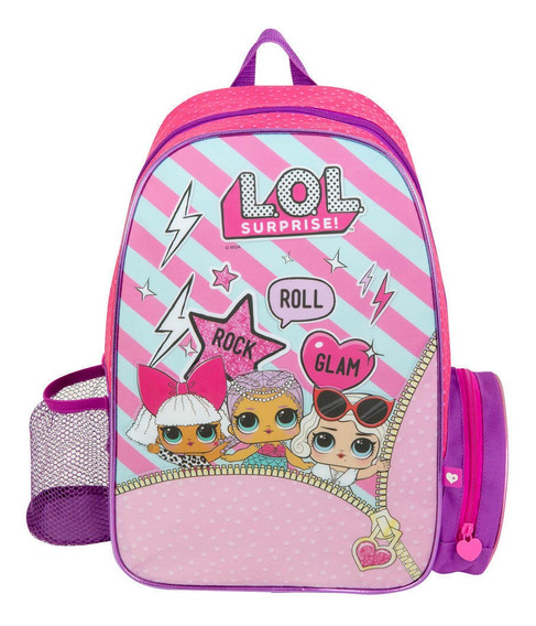 Mochila Lol Surprise - Italtoys - Original - Escolar