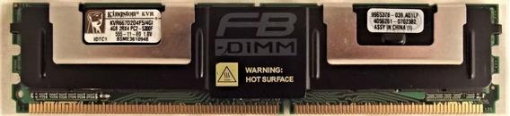 Kingston 4 Gb Kvr667d2d4f5 / 4gi Fb - Dimm Ddr2 Pc5300 1 Op