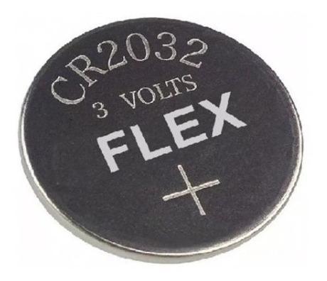 Bateria Botão Fx-cr2032 3v Flex