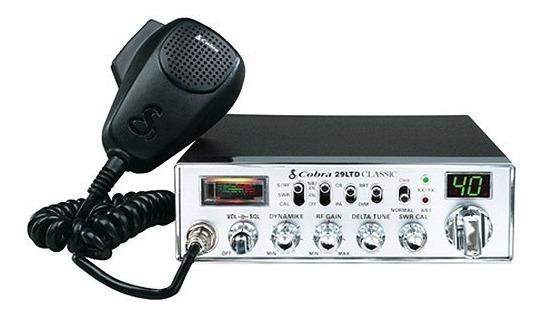 Cobra 29 LTD Classic CB  Radio Face Plate Decal