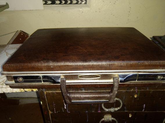 Portafolio Vintage Execu-case Piel