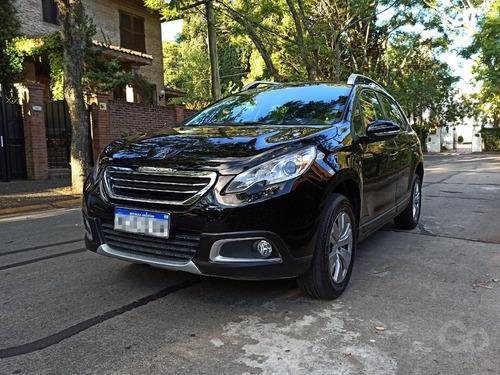Peugeot 2008 1.6 Allure 2017 Negra Primera Mano