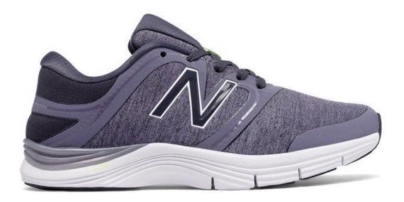 Zapatilla New Balance Running Mujer Wx711hc2 Violeta Ras