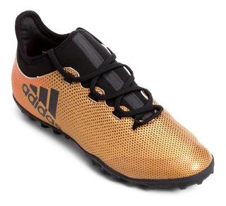 Chuteira adidas X Tango 17.3 Tf Dourada - Society