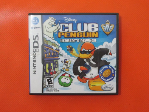 Club Penguin Herbert's Revenge Original Nintendo Ds