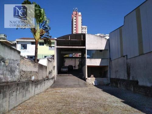 Imagem 1 de 20 de Galpão Para Alugar, 500 M² Por R$ 8.000,00/mês - Campestre - Santo André/sp - Ga0490