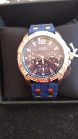 Relógio Guess 9560gcsnu2 Azul Original