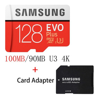Cartão Micro Sd Samsung Evo 128 Gb Classe 10, 4k, 100 Mb/s