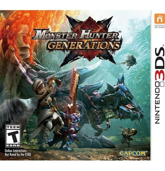 3ds - Monster Hunter Generation - Lacrado C/ Nota Fiscal