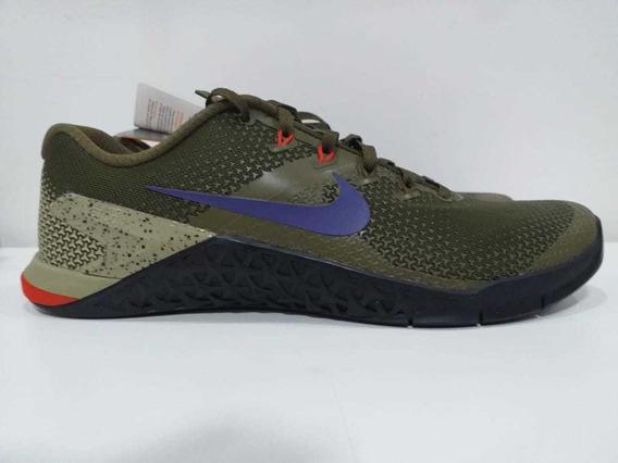 Tênis Nike Metcon 4 Crossfit Treino Funcional Original Verde