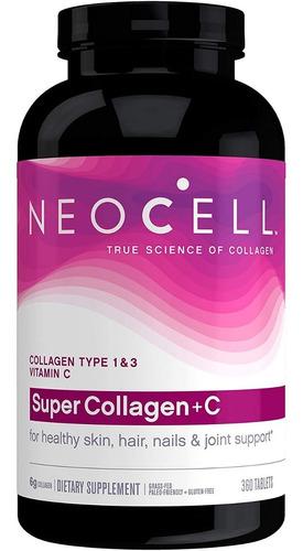 Colageno Neocell 360 Capsulas Al Mejor Original Con Biotin