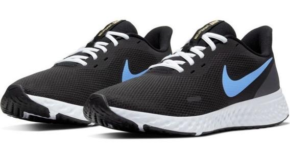 Zapatillas Nike Revolution 5 Talles Grandes Negro Bq3204004