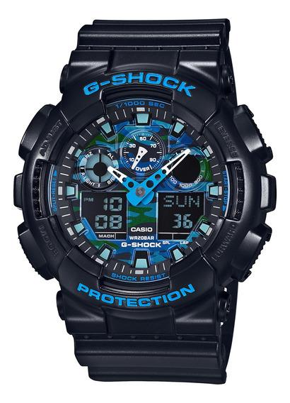 Reloj G-shock Hombre Negro Ga-100cb-1adr