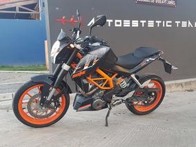Ktm Duke 390 Abs Color Negro Con Naranja, Unico Dueño!