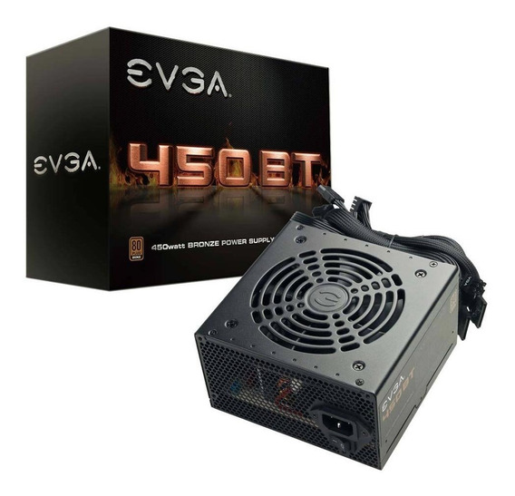 Fonte 450 Watts Plus Bronze 100-bt-0450-k1 - Evga