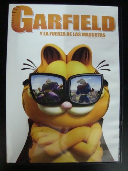Garfield Y La Fuerza De Las Mascotas - Dvd