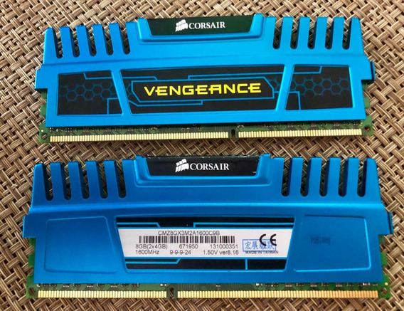 Memoria Corsair Vengeance Blue