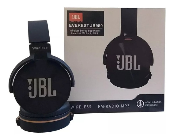 Headset Fone Bluetooth Jbl Jb950 Super Bass Radio Prt Entreg