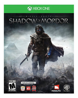 Shadow Of Mordor Middle Earth Xbox One